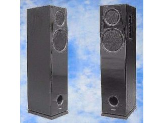 2 weg speakers 2 x 100watt Rms Pianolak,