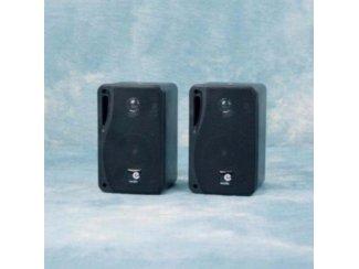3 Weg mini speakers 80 Watt 4 Ohm Zwart (B416BKJO)