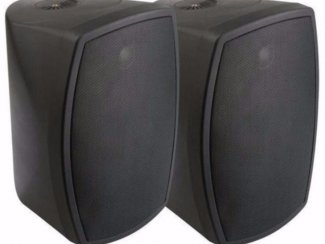 Binnen of buiten speakers 150Watt - Zwart (079-T)