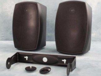 100 Volt speaker 30 Watt binnen of buiten Zwart (977-T)