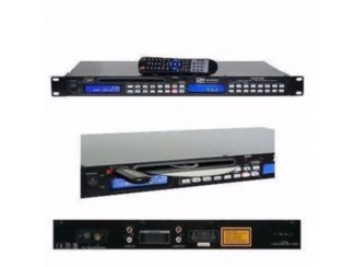 1U Tuner met USB/CD/Mp3 speler 19 Inch (2248-B)
