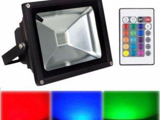 Ibiza-Light RGB LED Buitenlamp met afstandbediening (1503)