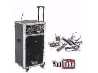 Geluidsinstallatie DVD/MP3/SD/USB/VHF Opruiming !