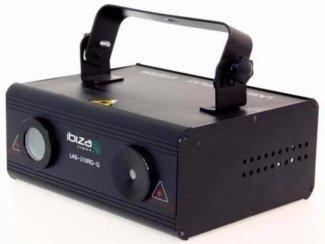 Rood/groene Dmx laser 150+60mw met Firefly en Grafische Gobo