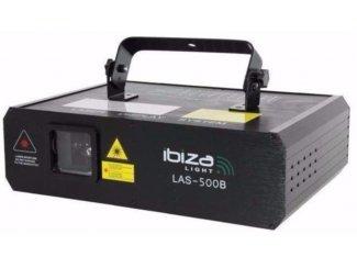 Professionele Blauwe Laser 500mw ILDA en 12 Dmx kanalen