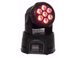 Mini wash moving head 4-in-1 (1250b)