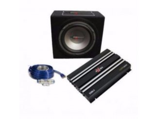 Complete Car Audio set EXCALIBUR X5 PACK