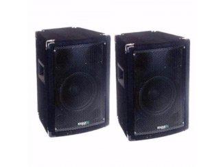 3-weg Bass Reflex discobox 150/300 Watt (100)