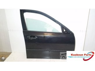 Deur / portier rechts voor zwart Saab 9-3 2003 - 2014