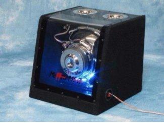 Subwoofer Baltimore met Neon 600 Watt 12 Inch 30 cm,