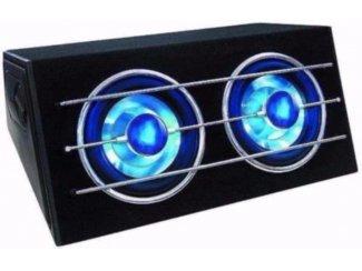 Blue Moon Subwoofer 1200 Watt LED-Verlichting,