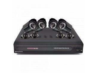 DVR 4CMOS Kit 500GB HD 8 Kanalen (154-T)