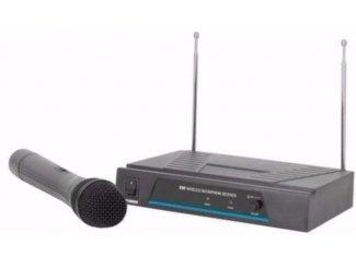 Draadloze VHF microfoon tot 50 meter (804-E)