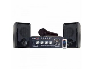 PARTY-KA100 Karaoke set Usb, Sd, Bluetooth (9020P-B)