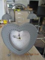 Klok in hart vorm