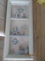 Ornament kastje van interieur berebhuis maat 20 x 5 x 44 cm