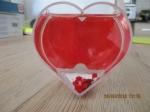 Decoratie beeld liefdes hart