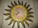 Wereld zon klok 40cm